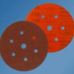Starcke 732EK 150mm Aluminium Oxide Form 617 - Velcro Backed - Festo Discs