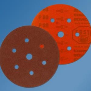Starcke 732EK 150mm Aluminium Oxide Form 617 – Velcro Backed – Festo Discs