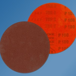 Starcke 732EK 150mm Alum. Oxide Form 610 – Velcro Backed – Plain Discs