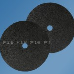 Starcke 943FF - 400mm Silicon Carbide Form 531 - 25mm centre hole - Double Sided Discs